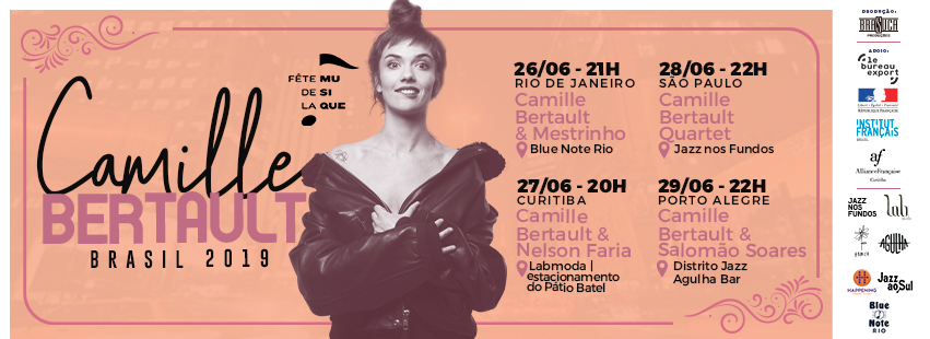 Camille Bertault | On tour in Brazil - What The France